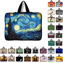 "7.9 9.7 10 12 13 14 15 17"" Van Gogh Tablet Sleeve Case Mini PC Laptop Bag  13.3 15.4 15.6 Computer Handbag Soft Protector Cover"