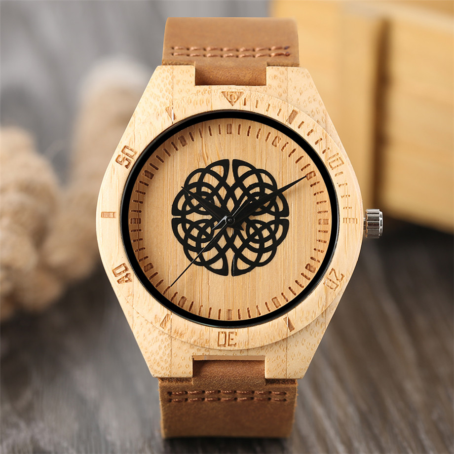 genuine leather band creative watches for men20