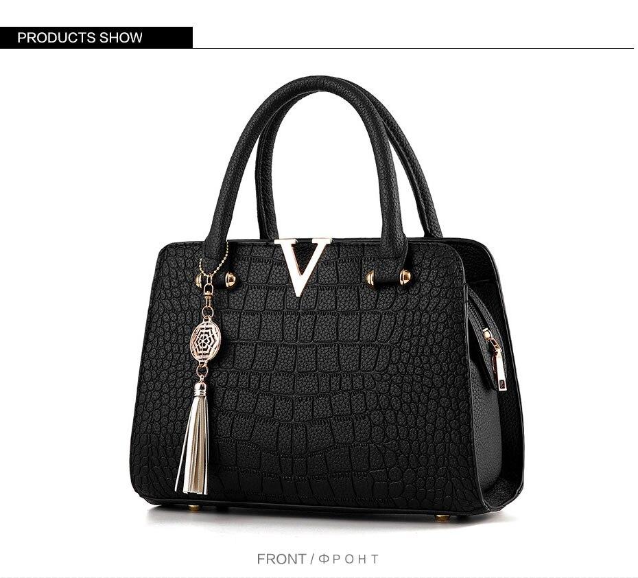 New Women Real Leather Handbag Large Multi Pocket Cross Body Bag Shoulder Bag TN