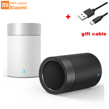 Original Xiaomi Canhão 2 Cilíndrico Metálico mini Portátil Sem Fio Bluetooth Speaker Subwoofer Bluetooth Speaker Handsfree MIC(China)