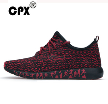 CPX Mens athletic Sneakers stretch Elastic mesh Running Shoes summer & Autumn Breathable shoes Sports leasure Shoes max size 47(China)