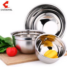 2016 Ingredients Standby Bowls Mixing Bowl Stainless Steel DIY Cake Bread Salad Mixer Kitchen Cooking Tools(China)