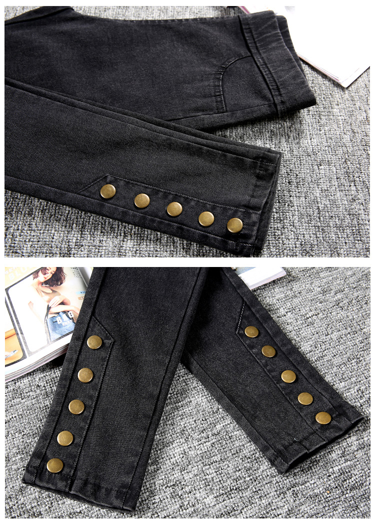 18 New Fashion Jeans Women Pencil Pants High Waist Jeans Sexy Slim Elastic Skinny Pants Trousers Fit Lady Jeans Big Size 1348 4