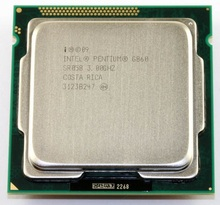 Original Pentium G860 Processor 3.0GHz 3MB Cache LGA1155 Dual-Core 65W Desktop CPU scrattered pieces(China)