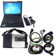 Top-rated Super MB Star C5 SD Conenct with laptop x200t diagnostic PC with mb star c5 newest software sd c5 V2017.09 hdd(China)
