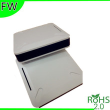 plastic box case electronic project box wifi router enclosure 120*120*25mm electronics enclosures for pcb junction box