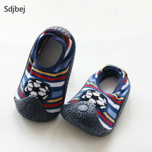 Rubber Soles Boys And Girls Shoes Newborn Socks Baby Shoes Waterproof Non-slip Baby's Out Of Shoes Kids Socks (China)
