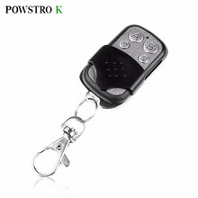 POWSTRO K Wireless Remote Control Switch 12V Copy Duplicator Adjustable Frequency Gate Garage Door Motorcycle Remote Control