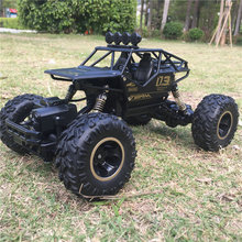 Buy New Alloy Four-Wheel Drive Rc Car Climbing Dirt Bike Buggy Radio Remote Control High Speed Racing Car Model Toys Kids for $38.60 in AliExpress store