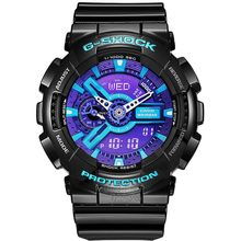 Casio watch Earthquake anti-magnetic waterproof sports men's watch GA-110HC-1A GA-110HC-2A GA-110HC-6A