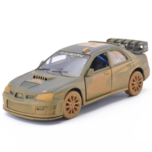 1/36 Scale Car Model Toys Subaru Impreza WRC 2007 old version Racing Car Diecast Metal Pull Back Car Model For Baby Gifts Toys(China)