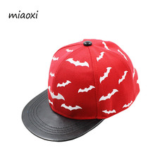 miaoxi New Fashion Children Animal Baseball Cap Summer Casual Adjustable Child Hat Bat Picture Boys Hats For Girls Cap
