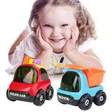 Mini Baby Child Instructive Cute Designed Trucks Tractor Mixer Car Toy For Children Kids brinquedos