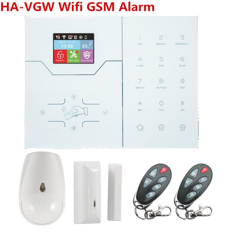 ST-VGW GSM WIFI Alarm _