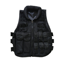 Outdoor Training Airsoft Body Armor Black Paintball Swat Vest Colete Tatico Military Army Style Tactical Vest for Men(China)