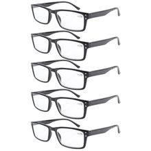 71527dd06256d R057 eyekepper 5-pack primavera dobradiça óculos de leitura retro incluem  óculos de leitura + 1 1. 25 1. 5 1. 75 2 2.25 2.5 2.75.
