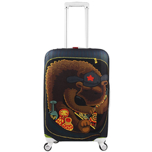 "Suitcase Cover Travel Luggage Cover Protector Thicken Elastic Coloful Design Protection Cover Apply to 18"" to 32"" Trolley Case(China)"