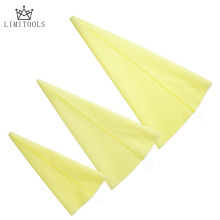 Yellow Reusable Silicone Pastry Bag Cake Tool Decorating Cream Icing Piping Bag Tool Bakery Dessert Baking Kitchen Accessories