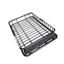 Universal Car Roof Rack Cross Bar Cargo Basket fit for all SUV Models Lock 165x105cm 100kg