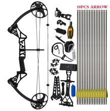 "Topoint Archery Compound Bow package,M1,19""-30"" draw length,19-70lbs draw weight,320fps IBO(China)"
