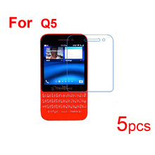 5pcs Phone Guard Protective FilmS for BlackBerry Q5/Q20/9900 9930/9320 9220 Screen Protector,Clear/Matte/Nano Shatter Proof Film(China)