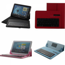 Universal Detachable Wireless Bluetooth Keyboard Case For Sony Xperia Tablet Z2 10.1 for samsung for ipad6 air 2 Leather Case