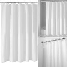 High Quality Bathroom Shower Curtain Waterproof Moldproof Solid Polyester Fabric Bath Curtain Elegant Cortina +12 Hooks