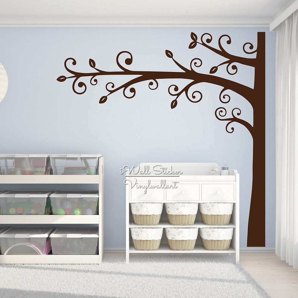 Large family tree wall decal