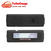 2017 TurboGauge IV Auto trip Computer Scan Tool Digital Gauge 4 in 1 Vehicle Computer OBDII/EOBD car trip computer Free shipping
