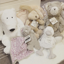 25 cm Colorful Rabbit duck Polar bear Grizzlies  plush toys  Doll  Stuffed pp cotton  baby Pillows