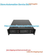 2U double motherboard chassis hot plug server cabinet industrial control equipment computer case deep ITX motherboard
