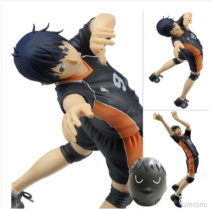 17cm Haikyuu!! kageyama Tobio Action Figures PVC brinquedos Collection Figures toys for christmas gift free shipping<br>