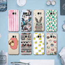 Little Pet Dog Rabbit Plant Cactus Soft TPU Phone Cases for Huawei P8 Lite P9 for LG G5 Pattern Silicone Case Coque Para Capa(China)