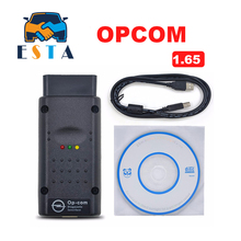 OP COM OPCOM OPEL V1.65 with PIC18F458 OP-COM obd2 opel scanner Micro chip diagnostic v2012 more stable than v1.45