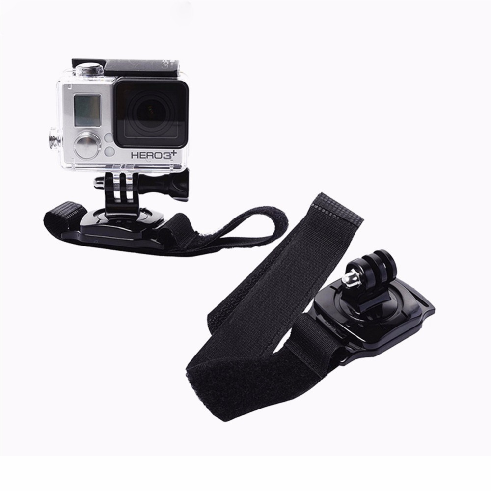 360 Degree Wristband For GoPro three Way mount