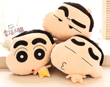 Candice guo plush toy stuffed doll funny expression Crayon Shin chan pillow cushion children kid birthday gift christmas present