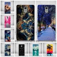 Soft TPU Phone Cover Cases for Lenovo Vibe P1M Cases Silicon Cover For Lenovo P1M P1MA40 Phone Back Cover Luxury Printing Bag