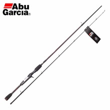 Abu Garcia 2 Sections BMAXC 662M Casting Fishing Rod 1.98M Carbon Fiber Fishing Rod M Power Ceramic Guide Rings Rod For Fishing