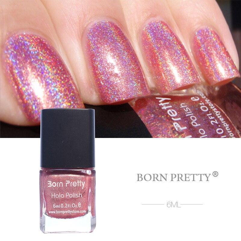 11 Bottles BORN PRETTY Holographic Nail Polish Holo Glitter Super Shine Nail Lacquer Polish Varnish<br>
