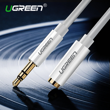 Ugreen 3.5mm Extension Audio Cable Male to Female Aux Cable Headphone Cable 3.5 mm extension cable for iPhone 6s MP3 MP4 Player(China)