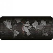 World map pattern mouse to notbook computer mousepad cool gaming mouse mats to mouse gamer pad anti slip office desk pad 90*40cm
