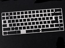Stainless Steel 75% Mechanical Keyboard support stainless steel plate for eepw84 xd84 pcb(China)