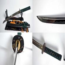 Hand Forged Quenched 9260 Spring Steel Blade Japanese Katana Tanto Sword a Sharp Sword(China)