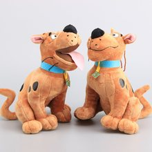 2 Styles Scooby Doo Dog Stuffed Animals Cartoon Plush Toys 24 CM Children Gift