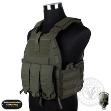 TMC 94K M4 Pouch Plate Carrier Matte RG airsoft paintball Vest Combat Gear TMC2327 Foliage Green(China)