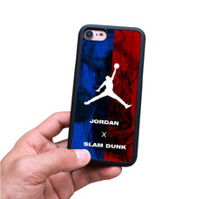 Баскетбол NBA star street Марка Jordan bape Акула чехол для iPhone 6 6s 6 plus 7 8 plus X охватывает Fundas случаях capinha(China)