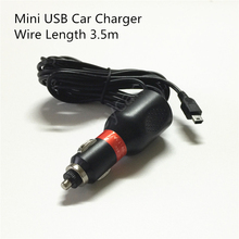 12V 24V To 5V 2A Mini USB Car Charger Long Vehicle Power Cable Cord Truck For Garmin Nuvi Navigation GPS Tomtom DVR Dash Cam