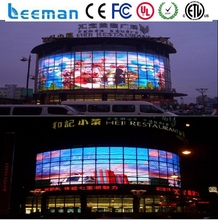 Leeman p5 smd 3in1 indoor led display wall glass led display flexible folding stage curtains transparent glass led display
