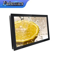 M190-R02/ Faismars 19 Inch 1440*900 Metal Frame Rack Mount Monitor With VGA AV TV HDMI Input and VESA Gift