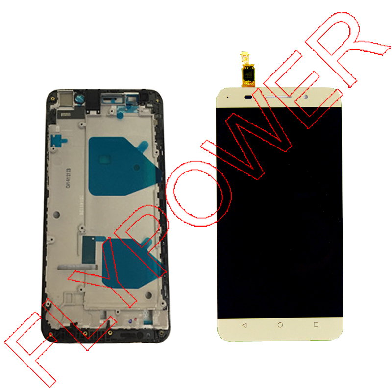 For HUAWEI Honor 4X Play lcd screen display with digitizer touch with Frame Assembly by free shipping; 100% Warranty<br><br>Aliexpress